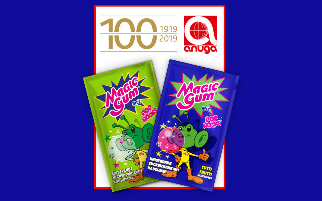 MAGIC GUM – ANUGA 2019